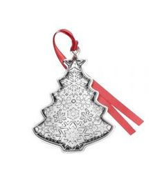 2018 Sterling Christmas Tree Ornament 2nd Edition