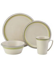 Green 4 Piece Place Setting
