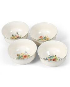 Garden Set of 4 Assorted Cereal Bowls