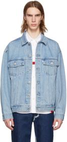 Levi's Blue Denim 'Silvertab' Trucker Jacket