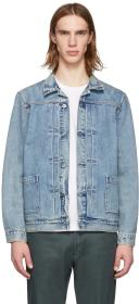 Levi's Made & Crafted Blue Type II Worn Jacket