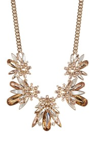 Givenchy Stone Cluster Drama Collar