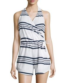 FAITHFULL Halter neck Wrap Romper~1411829230
