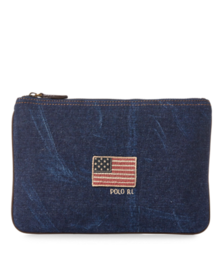 Flag Canvas Small Pouch