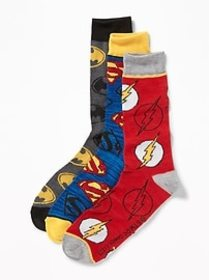 Pop-Culture Socks 3-Pack for Men