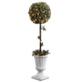 National Tree 41in. Pre-Lit & Battery Operated Top