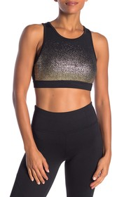 C & C California Metallic Ombre Sports Bra