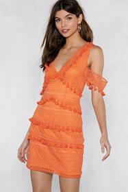Get into the Swing of Things Tassel Dress