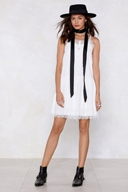 Couldn't Care Lace Cami Dress