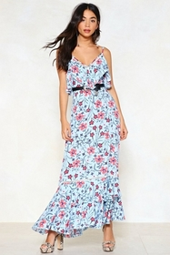 Listen to the Flower People Floral Dress