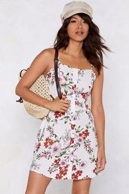 Minute by Minute Floral Dress