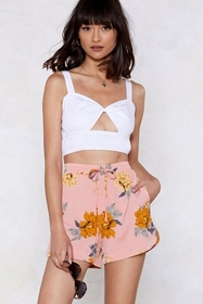 The Flower is Yours Relaxed Shorts
