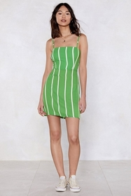 Make a Beeline Striped Dress