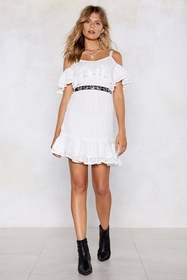 Let's Call the Hole Thing Off Crochet Dress