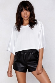 Mesh With Me Cropped Top