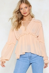 Ruffle Riders Blouse