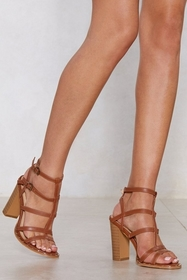 Can't Cage Me Heeled Sandal