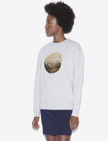 TWO-WAY SEQUIN SWEATSHIRT