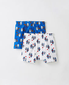 Hanna Andersson Boxer Briefs 2 Pack In Organic Cot