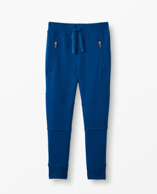 Hanna Andersson Double Knee Slim Sweatpants