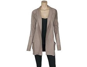Natural Reflections® Women's Paneled Open-Front Ca