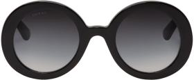 Gucci Black Round GG Sunglasses