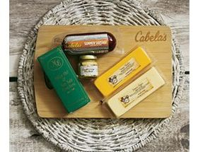 Cabela's Cutting Board Meat and Cheese Assortment