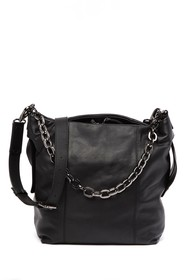 Kooba Dante Leather Shoulder Bag