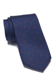 Ben Sherman Lloyd Leaves Silk Tie