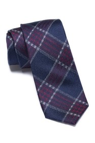 Ben Sherman Laif Plaid Silk Tie