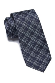 Ben Sherman Warner Plaid Silk Tie