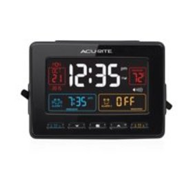 Atomic Clock with USB Charger & Dual Alarm