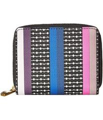 Fossil Novelty Stripe Rfid Mini Wallet