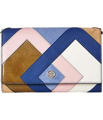 Tory Burch Robinson Pieced Chain Wallet