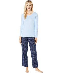 Nautica Cotton Flannel Pajama Set