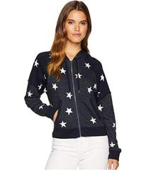 Splendid Star Zip Sweatshirt