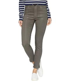 J Brand Alana High-Rise Crop Skinny in Coated Juni