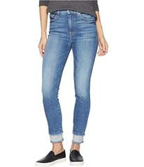 7 For All Mankind High-Waisted Ankle Skinny w\u002