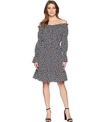 MICHAEL Michael Kors Graphic Leopard Off Shoulder