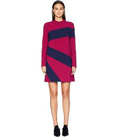 Nicole Miller Color Blocked Dress