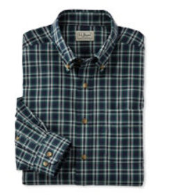 Wrinkle-Free Twill Sport Shirt, Traditional Fit Pl