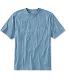Carefree Unshrinkable Tee with Pocket, Traditional
