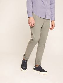 ZIP POCKET ELASTIC-WAIST PANT