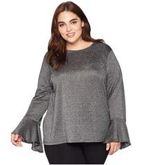 MICHAEL Michael Kors Plus Size Long Sleeve Bell Sl