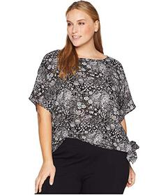 MICHAEL Michael Kors Plus Size Paisley Fun Remix T