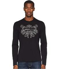 Versace Jeans Couture Embellished Logo T-Shirt