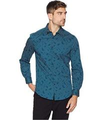 Perry Ellis Total Stretch Stripe Abstract Pattern