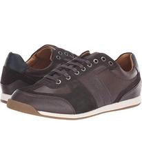 BOSS Hugo Boss Maze Sneaker in Leather & Suede by