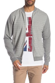 Ben Sherman Horizontal Textured Stripe Jacket