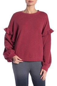Threads 4 Thought Sun Ruffle Pullover Sweater